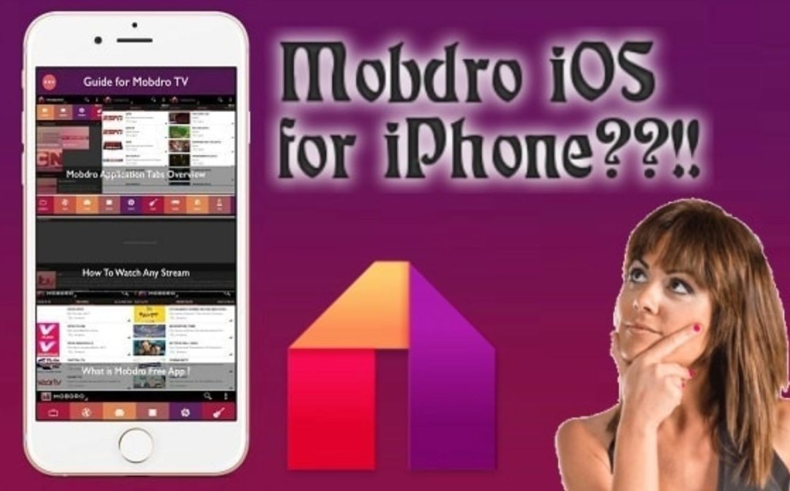 Mobdro IOS para iPhone?